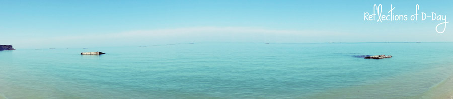reflections of dday pano