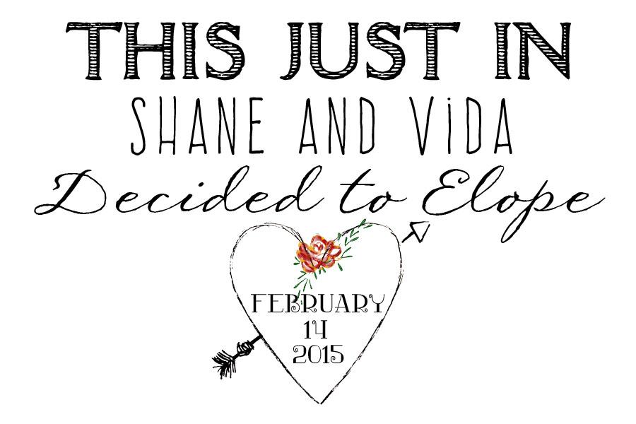 FB elopement announcement