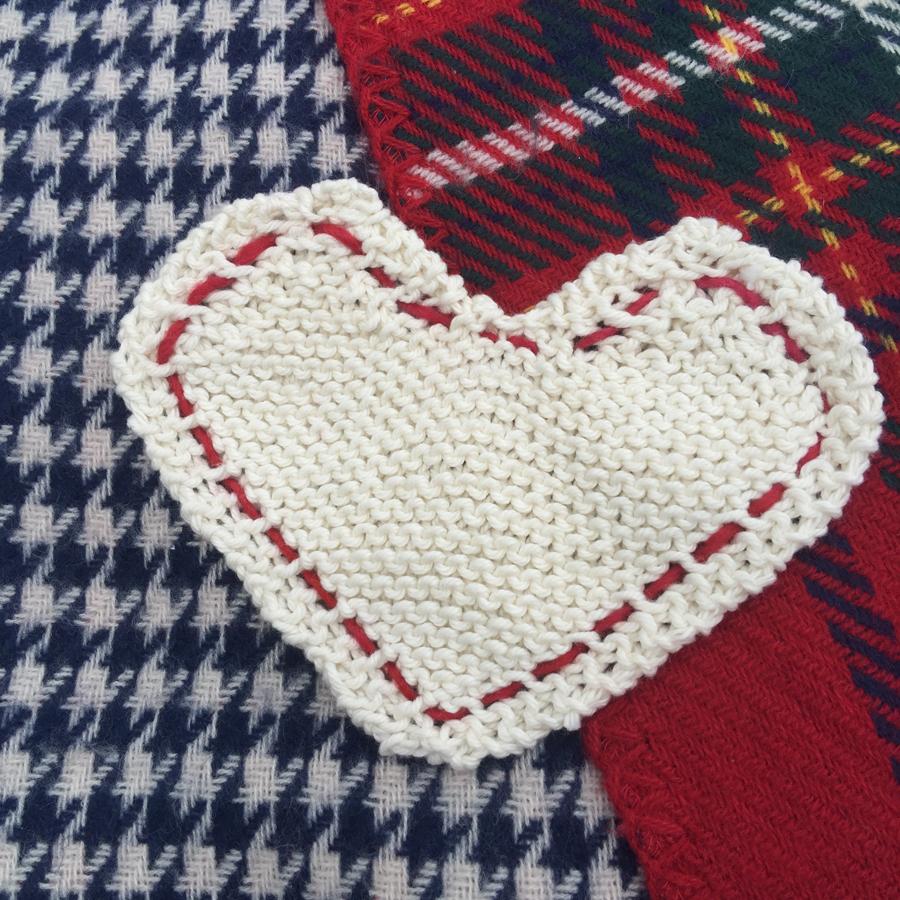 Valentine Heart Dish Cloth » {406} CreativeVibe